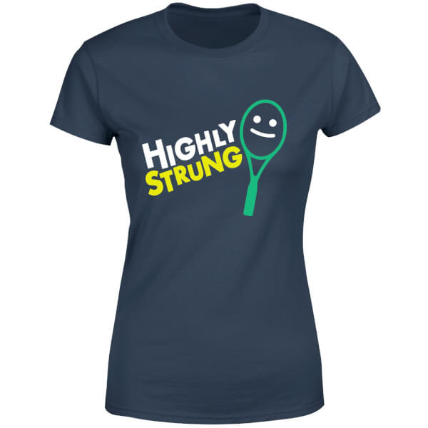 Highly Strung Women's T-Shirt - Navy