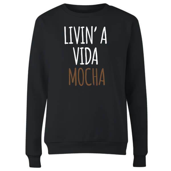 Livin' a Vida Mocha Women's Sweatshirt - Black
