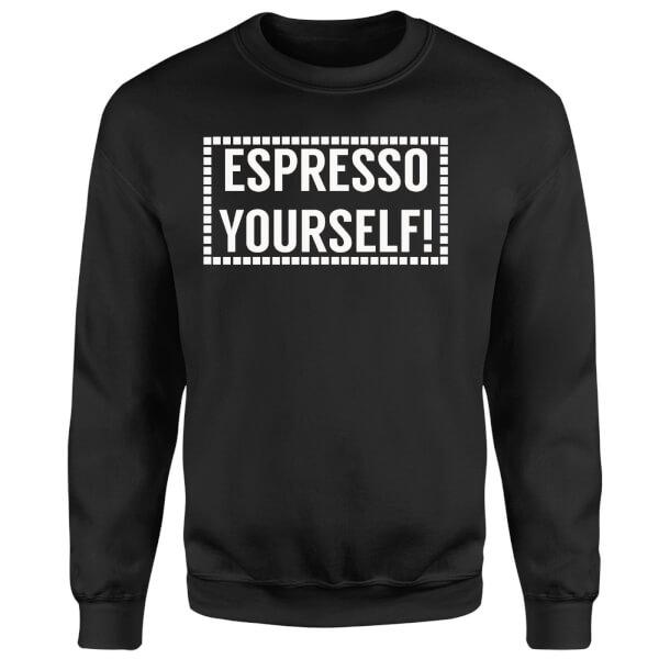 Expresso Yourself Sweatshirt - Black