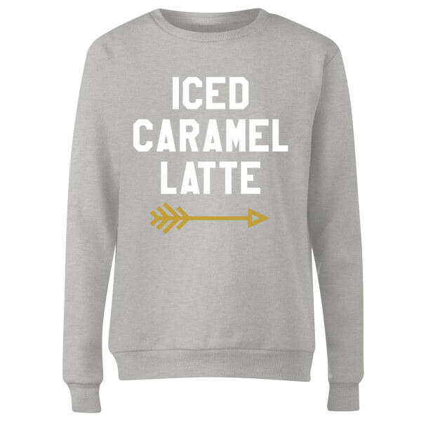 Iced Caramel Latte Women's Sweatshirt - Grey