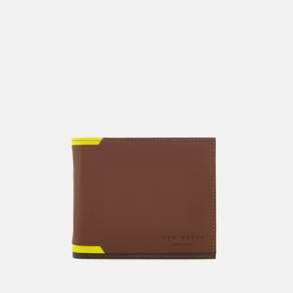 Ted Baker Men's Baldi Corner Detail Bifold Wallet - Tan