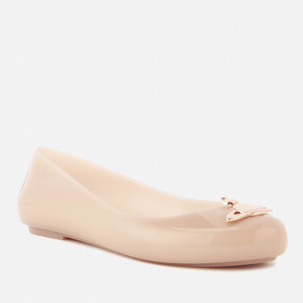 Pink Space Love Flat Shoes - Nude orb Vivienne Westwood zW4MRm