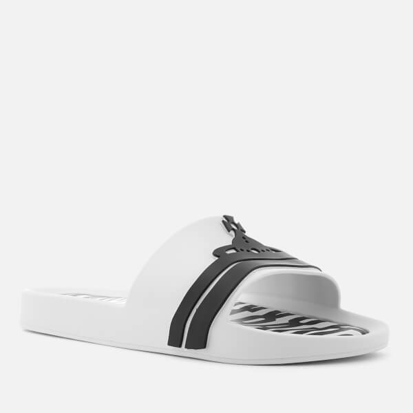 9330238ac2efd4 Vivienne Westwood for Melissa Women s Beach Slide 20 Sandals - White  Contrast  Image 2
