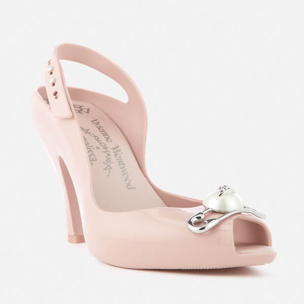 Vivienne Westwood Women's Lady Dragon 19 Heeled Sandals - Blush Pin - UK 3