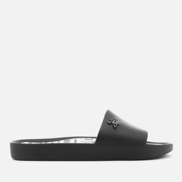 dab6d2a0697183 Vivienne Westwood for Melissa Women s Beach Slide 20 Sandals - Black Orb   Image 3