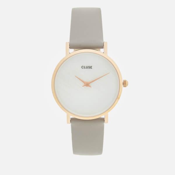 Cluse Women's Minuit La Perle Watch - Grey