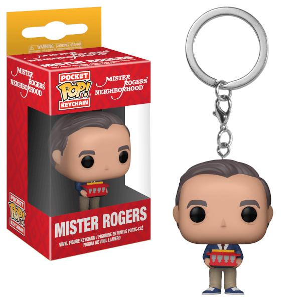 Mr Rogers Pop! Vinyl Key Chain