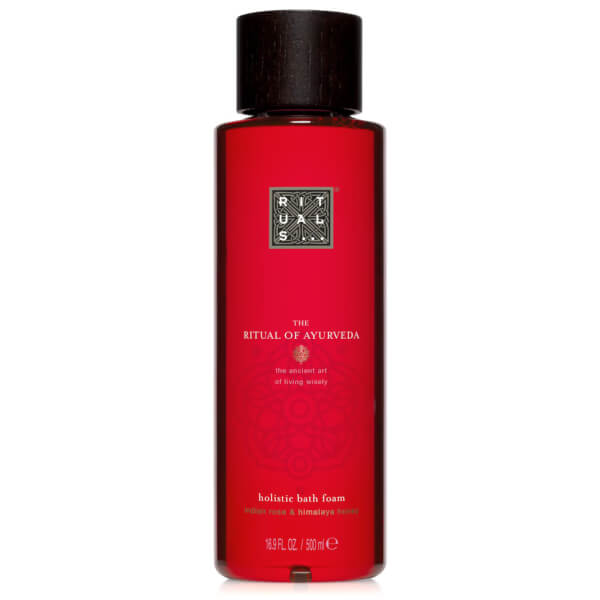 rituals the ritual of ayurveda bath foam 500ml hq hair. Black Bedroom Furniture Sets. Home Design Ideas