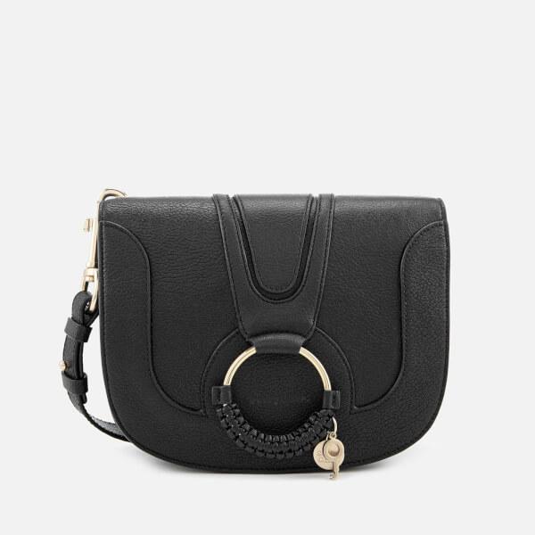See By Chloé Women's Hana Leather Cross Body Bag - Black