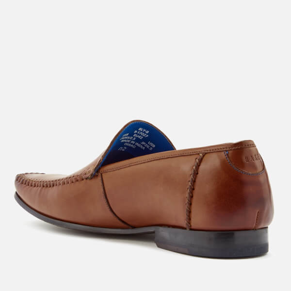 1c2d9342b9491 Ted Baker Men s Bly 9 Leather Slip-On Loafers - Tan  Image 2