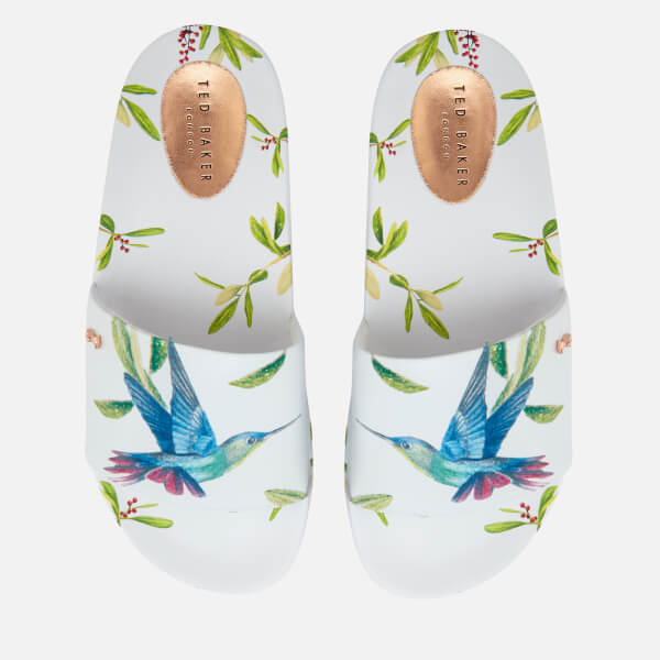 906575d68703 Ted Baker Women s Aveline Slide Sandals - Highgrove Hummingbird  Image 1
