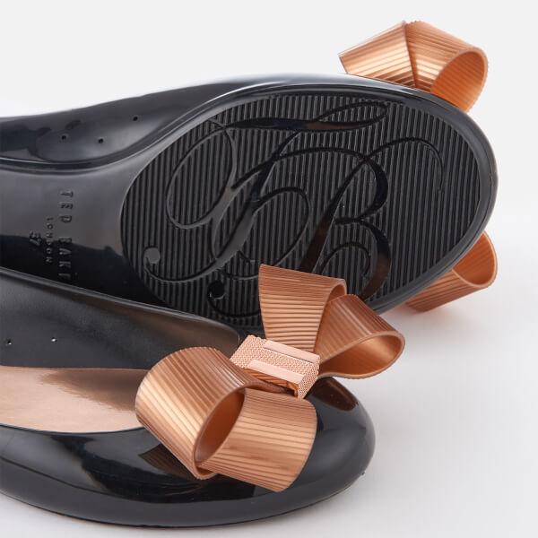 Ted Baker Women's Larmiar Bow Ballet Flats - Black