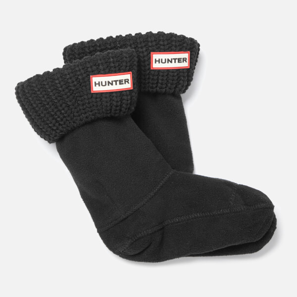 Hunter Toddlers' Short Boots Socks - Black