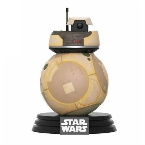 Star Wars E8 TLJ Resistance BB Unit EXC Pop! Vinyl Bobble Head Figure