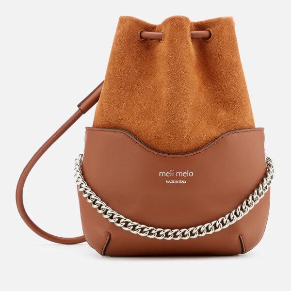 meli melo Women's Hetty Shoulder Bag - Almond