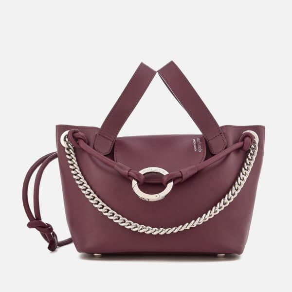 meli melo Women's Linked Thela Mini Tote Bag - Jupiter Burgundy