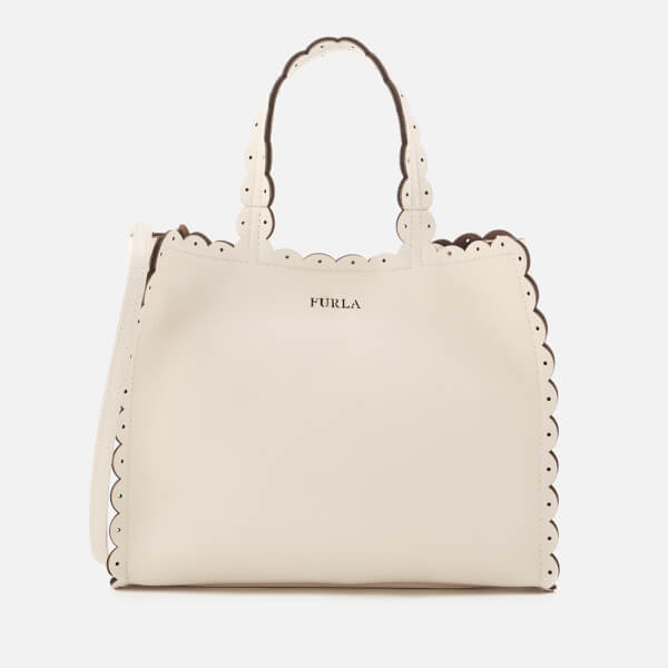 Furla Women's Merletto Small Tote Bag - White