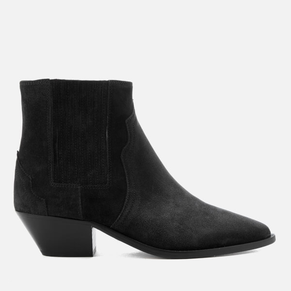 Isabel Marant Women's Derlyn Suede Heeled Ankle Boots - Faded - UK 3