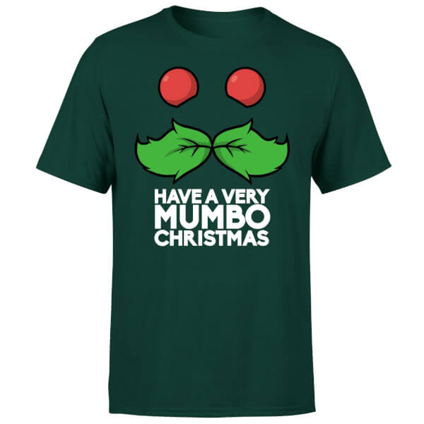 Mumbo Jumbo Have A Mumbo Christmas Green T-Shirt