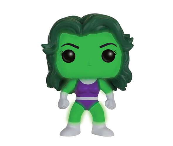 Marvel She-Hulk EXC Pop! Vinyl Figure GITD