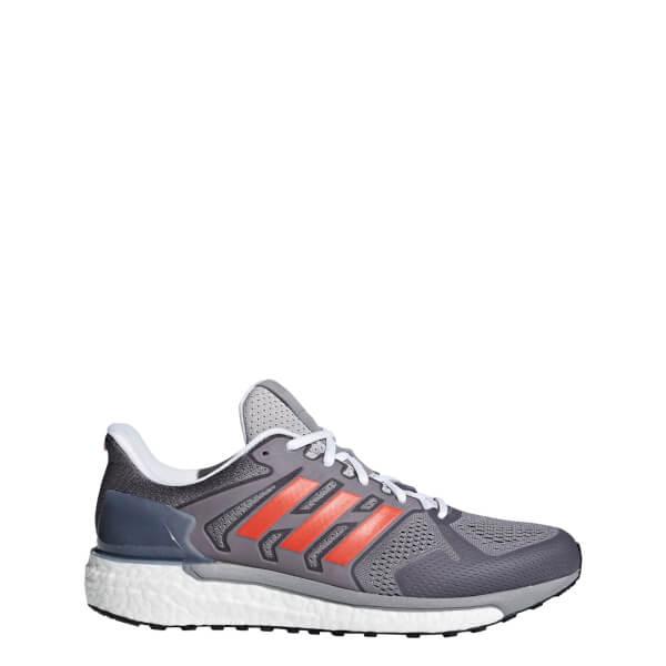 69c36fe7f56 adidas Supernova ST Aktiv Running Shoes - Grey Red Sports ...