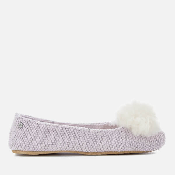 UGG Women's Andi Cotton Knitted Slippers - Lavender Fog