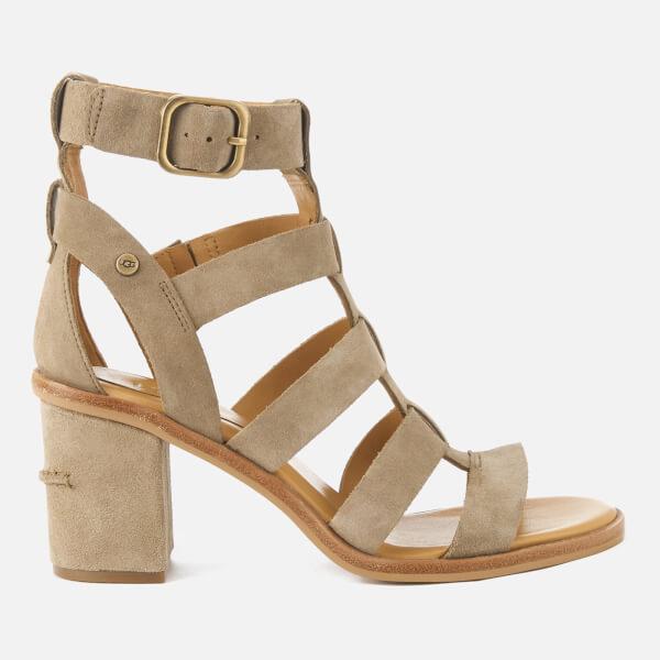 UGG Women's Macayla Gladiator Heeled Sandals - Antelope