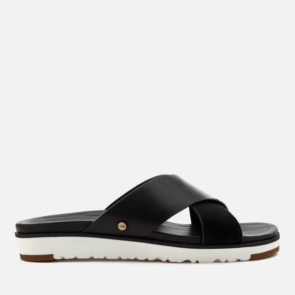 UGG Women's Kari Cross Strap Sandals - Black