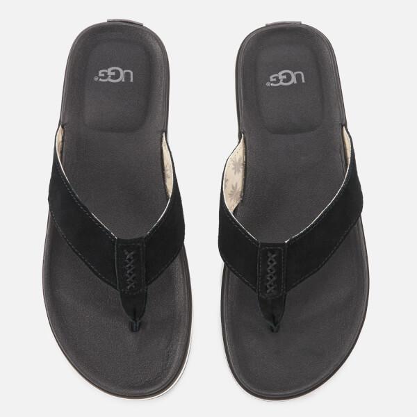 UGG Men's Braven Flip Flops - Black