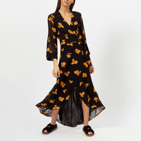 398d0bd9 Or the Fairfax Georgette Dress in Black £200 from Coggles. This and the one  above could easily be layered into the Winter with a black thin polo neck  and ...