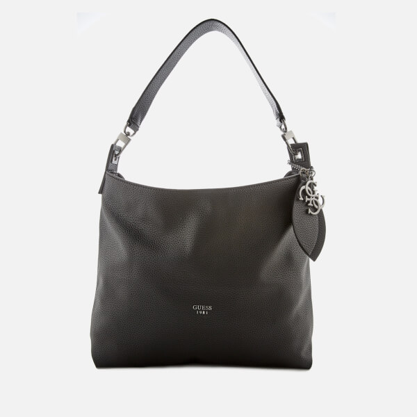 Guess Women's Lou Lou Hobo Bag - Black