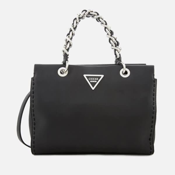 Guess Women's Sawyer Small Girlfriend Bag - Black