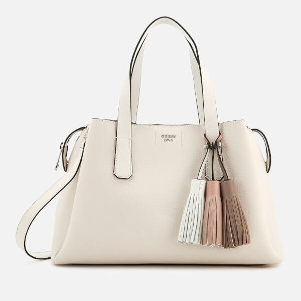 f6f8e0dd3d29 ... Tote Bag - Natural. £10.00 · Guess Women s Trudy Girlfriend Satchel -  White  Image 1