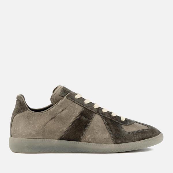 Maison Margiela Men's Vintage Treatment Replica Sneakers - Truffle/Light Grey Sole - EU 45/UK 12 Bkv2loxeN