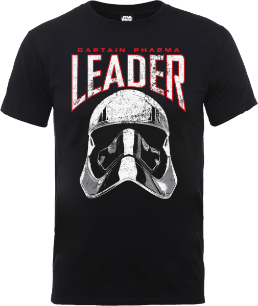 Star Wars The Last Jedi Captain Phasma Men's Black T-Shirt