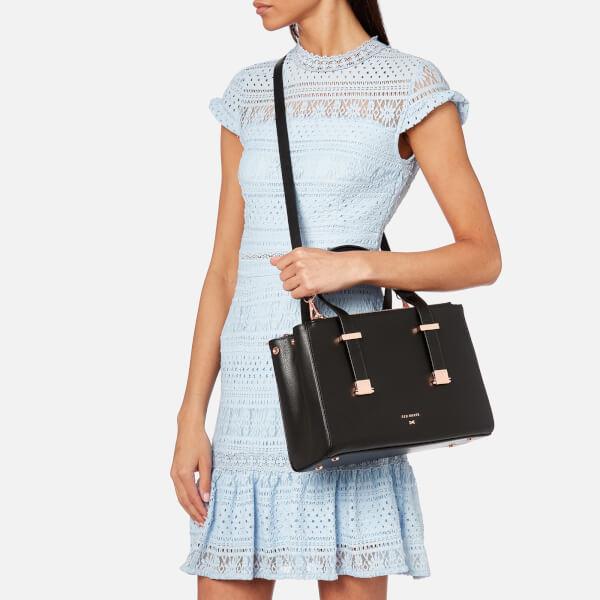 af8c0bdd533f Ted Baker Women s Audrey Adjustable Handle Small Tote Bag - Black  Image 3