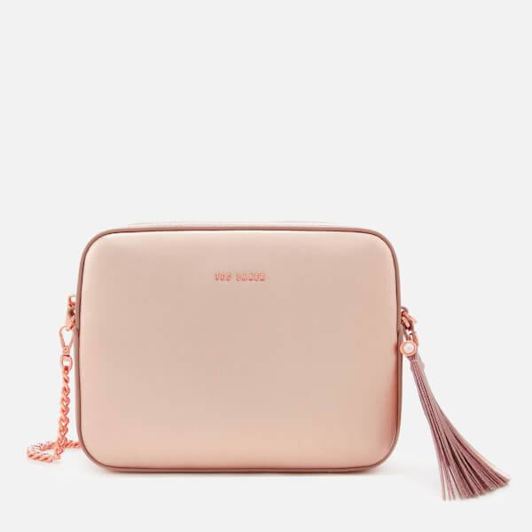 c819442668f0 Ted Baker Women s Amora Tassel Detail Camera Bag - Rose Gold  Image 1