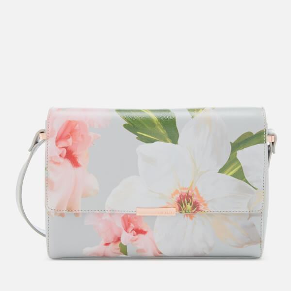 Ted Baker Women's Chatsworth Bloom Cross Body Bag - Mid Grey