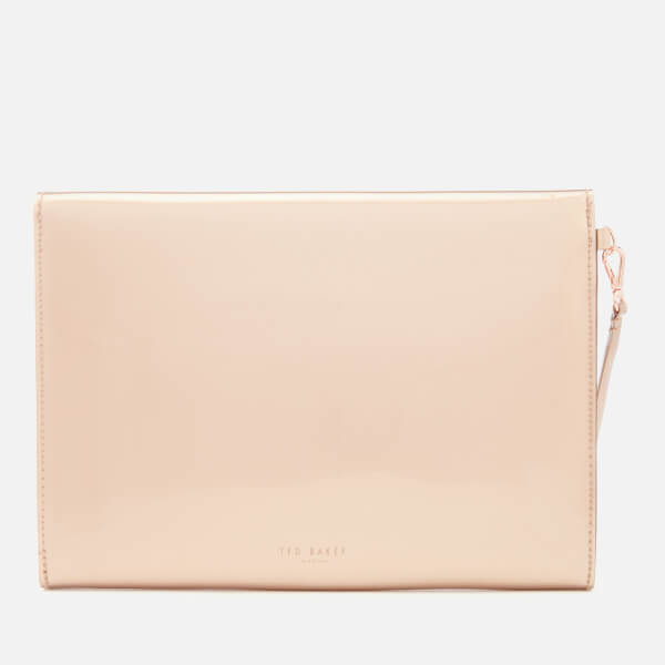 8762bb6d897 Ted Baker Women s Luanne Bow Envelope Pouch - Rose Gold  Image 2
