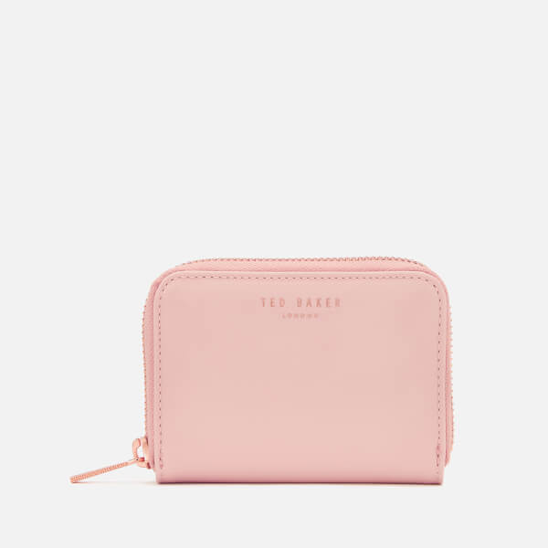 Ted Baker Women's Omarion Patent Zip Around Mini Purse - Light Pink