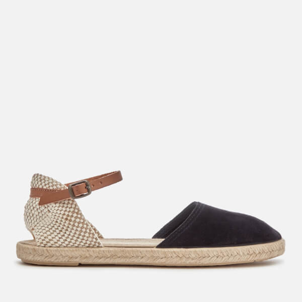 Hudson London Women's Borneo Suede Espadrilles - Navy