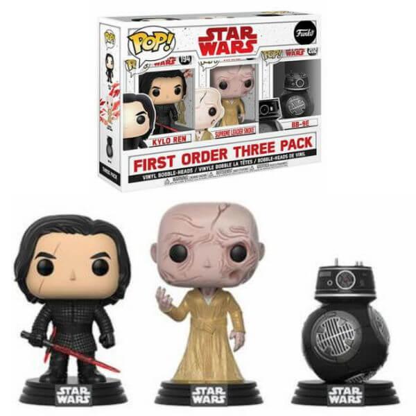 Star Wars The Last Jedi Bad Guys EXC Pop! Vinyl Figure 3-Pack