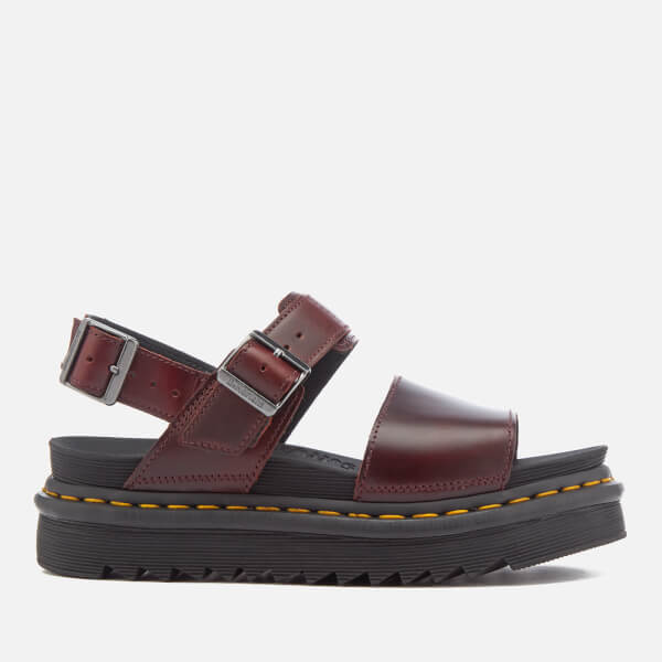 Dr. Martens Women's Voss Double Strap Leather Sandals - Charro