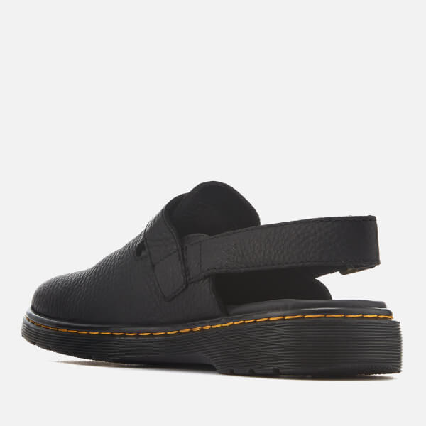 Dr. Martens Men's Jorge Rve Grizzly Leather Mules - - UK 7 sqKwPruJ