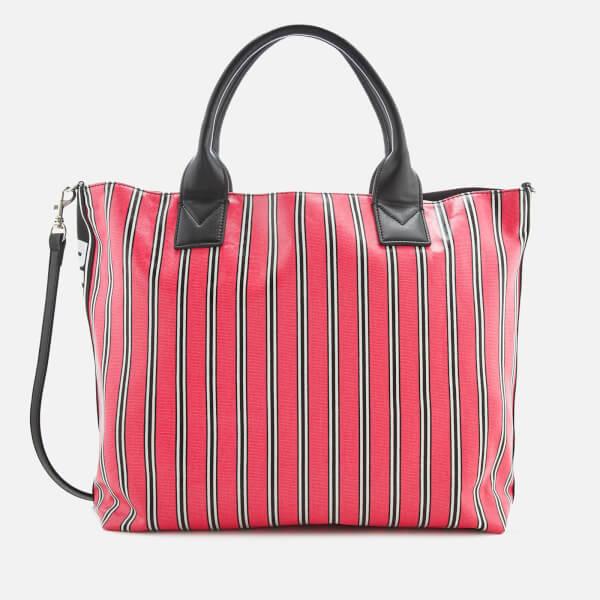 Pinko Women's Barbo Shopping Bag Grande - Fuchsia