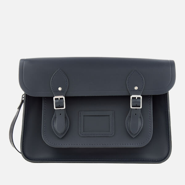 The Cambridge Satchel Company Women's 14 Inch Magnetic Satchel - Navy