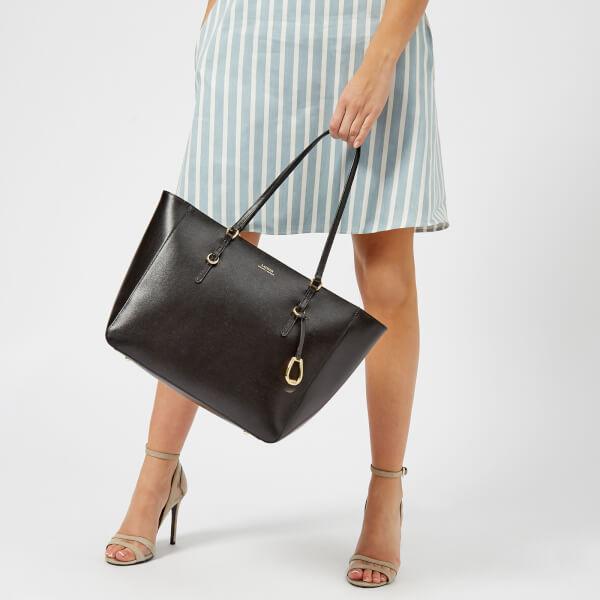 Lauren Ralph Lauren Women s Bennington Tote Bag - Black  Image 3 8ade1be60d