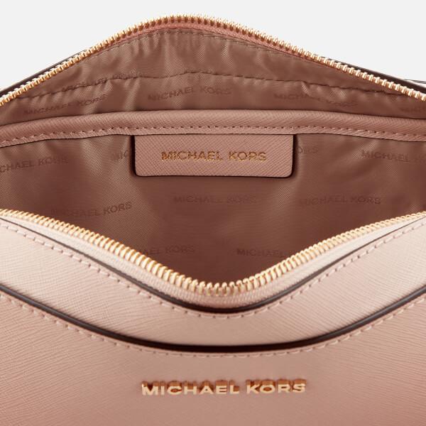 ddbf9b7e40de MICHAEL MICHAEL KORS Women s Large East West Cross Body Bag - Soft Pink   Image 5