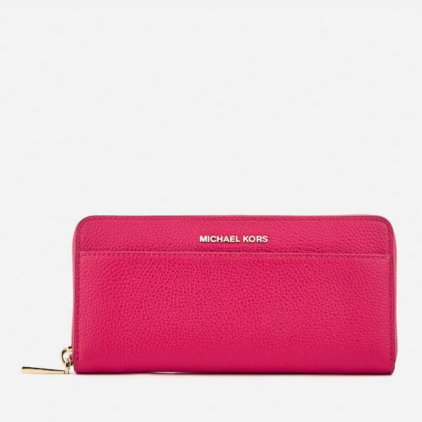 MICHAEL MICHAEL KORS Women's Pocket Zip Around Continental Wallet - Ultra Pink