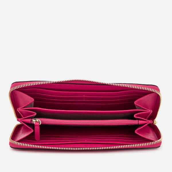 d5339b0c6702d3 MICHAEL MICHAEL KORS Women's Pocket Zip Around Continental Wallet - Ultra  Pink: Image 4